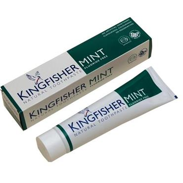 Kingfisher Natural Toothpaste - Mint Fluoride-free 100ml