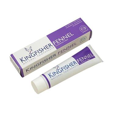 Kingfisher Natural Toothpaste - Fennel Fluoride-free 100ml