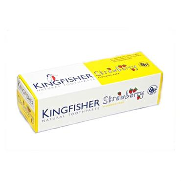 Kingfisher Children's Toothpaste - Strawberry Fluoride-free 75ml