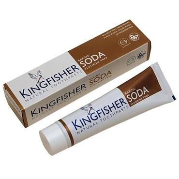 Kingfisher Natural Toothpaste - Baking Soda Fluoride-free 100ml