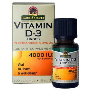 Nature's Answer Vitamin D3 Drops 15ml