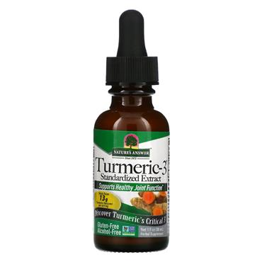 Nature's Answer Turmeric Root Alcohol Free Tincture 30ml