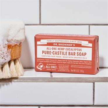 Dr Bronners Eucalyptus Soap Bar 140g
