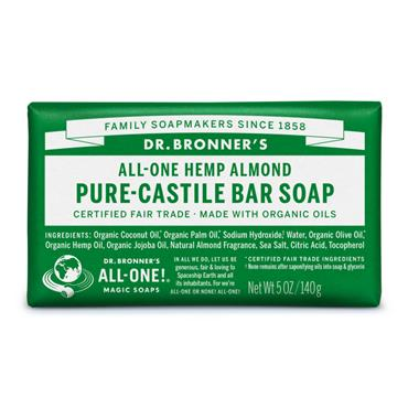 Dr. Bronner's Almond Bar Soap 140g