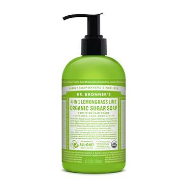 Dr Bronners Shikakai Lemongrass Hand Soap 356ml