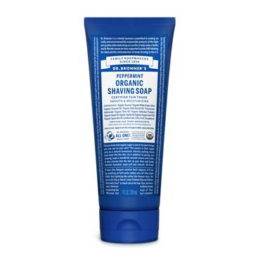 Dr Bronners Spearmint Peppermint Shaving Gel 208ml