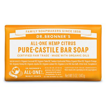 Dr. Bronner's Citrus Soap Bar 140g