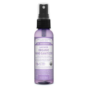Dr. Bronner's Lavender Organic Hand Sanitizer 59ml
