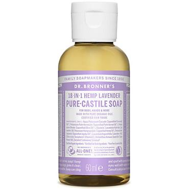 Dr. Bronner's Lavender Soap 60ml