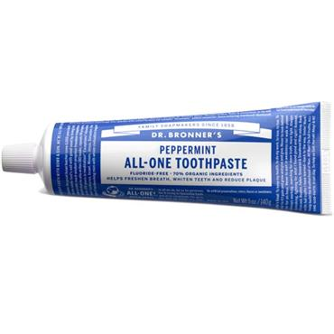 Dr Bronners All-One Peppermint Toothpaste 105ml