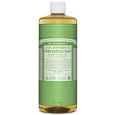 Dr. Bronner's Hemp & Green Tea Soap 946ml