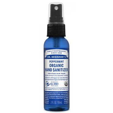 Dr. Bronner's Hand Sanitizer Peppermint 59ml