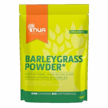 NUA Naturals Organic Barleygrass Powder 185g