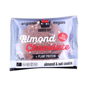 Kookie Cat Almond Chocolate Protein Cookie 50g