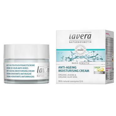 Lavera Basis Anti-Aging Moisturizing Cream with Q10 50ml