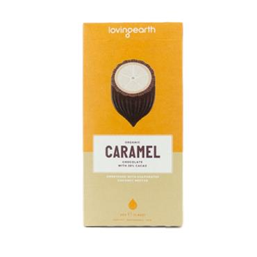 Loving Earth Vegan Caramel Chocolate 80G