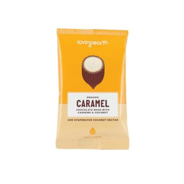 Loving Earth Vegan Caramel Chocolate 30G