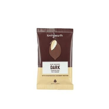 Loving Earth Organic Vegan Dark Chocolate 30g