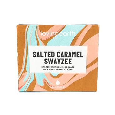 Loving Earth Organic Salted Caramel Swayzee Chocolate Bar 45g