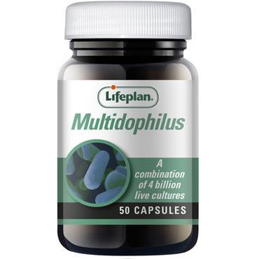 Lifeplan Multidophilus Capsules 50s