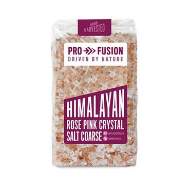 Profusion Himalayan Rose Pink Crystal Coarse Salt 500g
