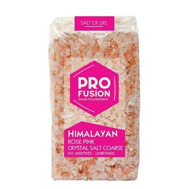 Profusion Himalayan Rose Pink Crystal Salt Coarse 500g