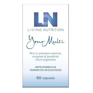 Living Nutrition - Your Multi 60 Capsules