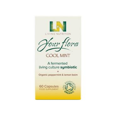 Living Nutrition - Your Flora Cool Mint 60s