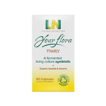 Living Nutrition - Your Flora Family 60s