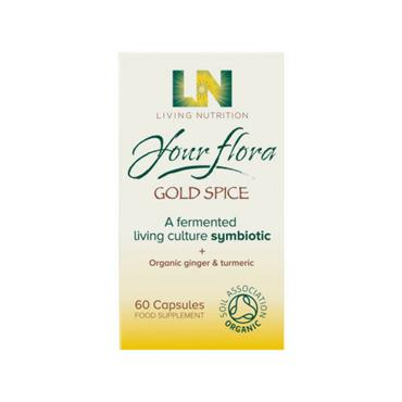Living Nutrition - Your Flora Gold Spice 60s