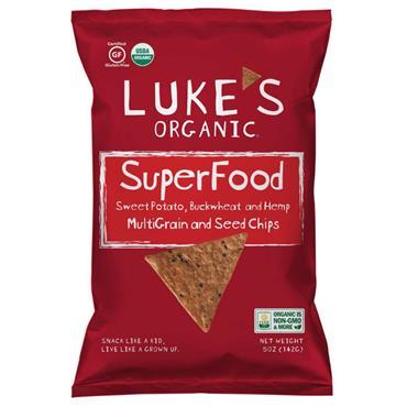 Lukes Organic 142g Hemp Buckwheat Chips