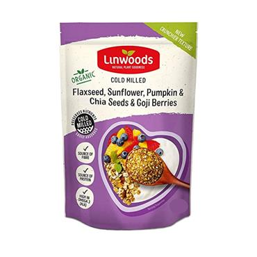 Linwoods Milled Flax, Sunflower, Pumpkin & Chia Seeds & Goji Berries 200g