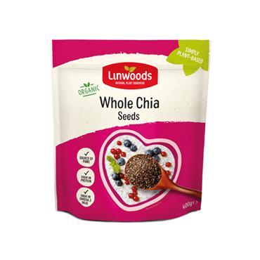 Linwoods Organic Whole Chia Seeds 400g