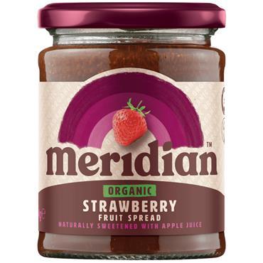 Meridian Organic Strawberry Fruit Spread 284g