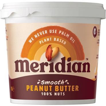 Meridian Smooth Peanut Butter 1kg (No Salt)