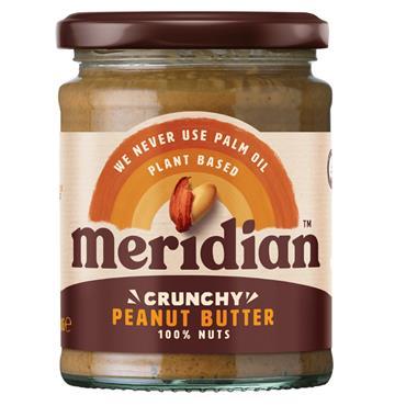 Meridian Peanut Butter Crunchy (No Salt) 280g