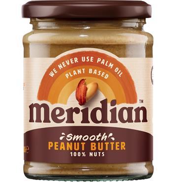 Meridian Peanut Butter Smooth No Salt 280g