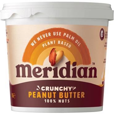 Meridian Crunchy Peanut Butter (No Salt) 1kg