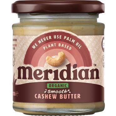 Meridian Organic Cashew Butter No Salt 170g
