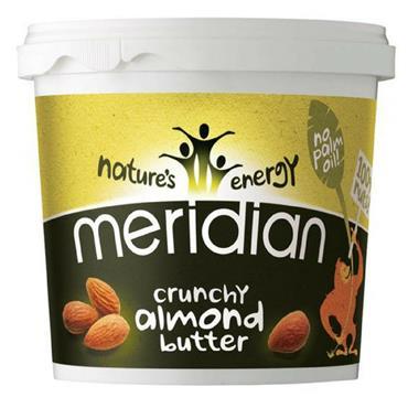 Meridian Crunchy Almond Butter 1Kg