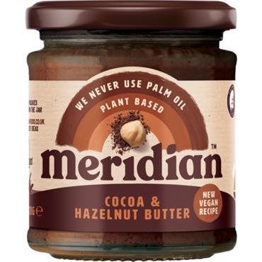 Meridian Cocoa & Hazelnut Butter 170g