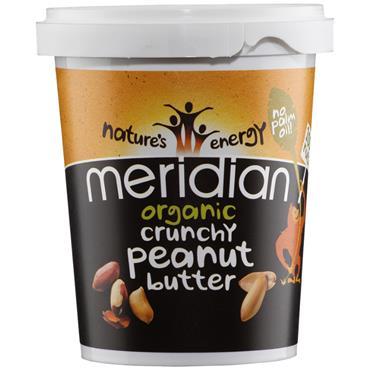 Meridian Organic Crunchy Peanut Butter 454g