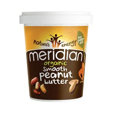 Meridian Organic Smooth Peanut Butter 454g