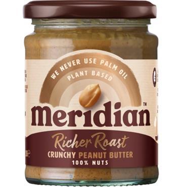 Meridian Rich Roast Crunchy Peanut Butter 280g
