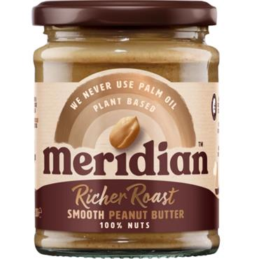 Meridian Rich Roast Smooth Peanut Butter 280g