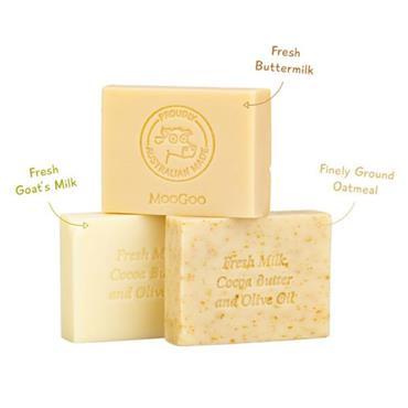 MooGoo Butter Milk Soap Bar 130g