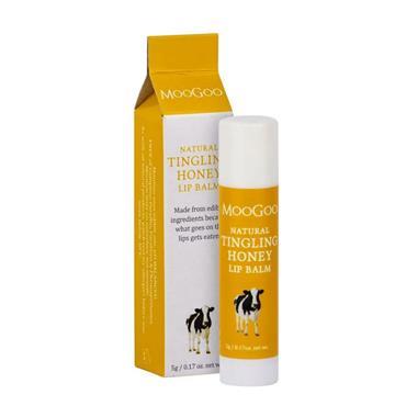 MooGoo Tingling Honey Lip Balm 5g
