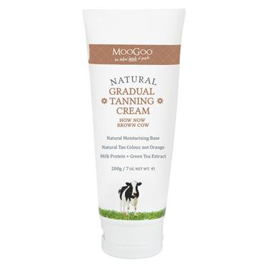 MooGoo How Now Brown Cow Gradual Tanning Cream 200g