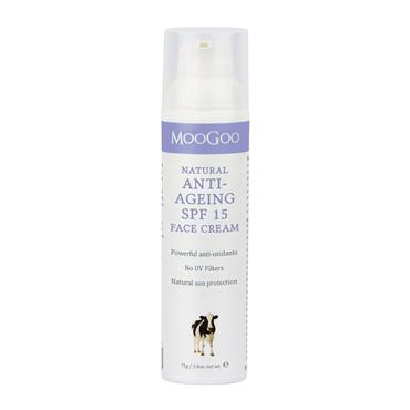 MooGoo Anti-Ageing SPF 15 Face Cream 75g