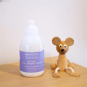 Natural Mini Moo Bubbly Wash 500ml